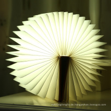 LED-Licht im Freien Licht Buch Form Licht