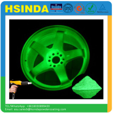 Hsinda Factory Price Price Green Fluorescent Glow no Dark Spray Paint Powder Coating