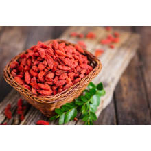 High fiber content goji berry