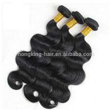 Heißer 2017 Wholesale Jungfrau-indisches Haar, 100% Menschenhaareinschlagfaden, Haar spinnt