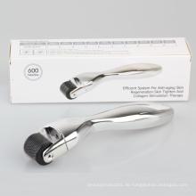 Körper Dermaroller 600 Micro Needle Derma Skin Roller 0.5mm Therapie