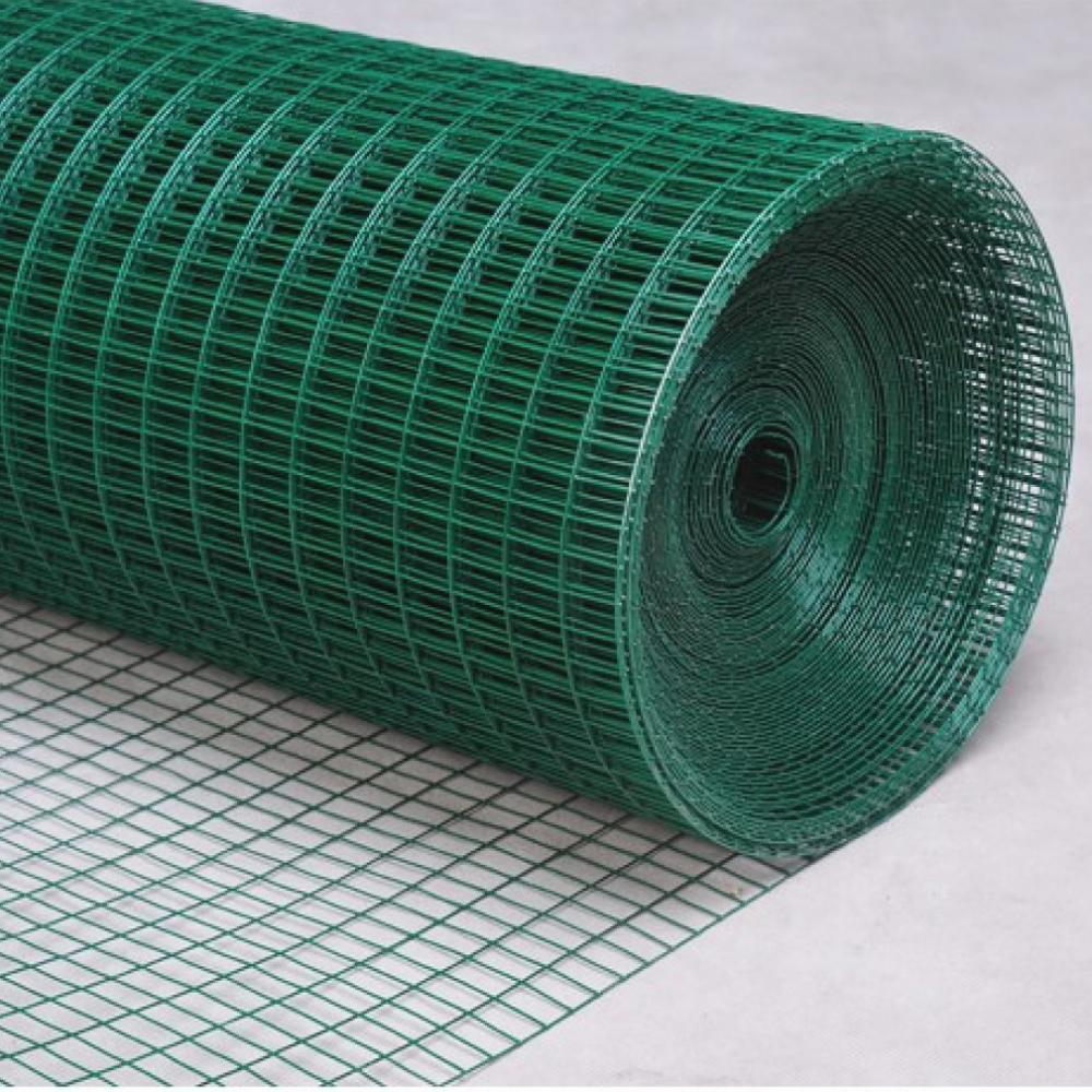 China Welded Wire Fence Pvc Vinyl Coated Green High