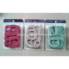 Adhesive Glitter Alphabet / Die-Cut Glitter Letters Scrapbook Decorative Embellishment