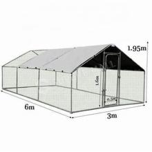Hot Sale Garden Backyard Breathable Big Wire Metal Farming Poultry Birds Chicken Cage With Door