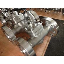 "1500lb Plug Type Stainless Steel F304 Globe Valve (J41H-1"")"