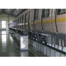 Dispositivo de descarga de carga de la batería del vehículo locomotor ferroviario