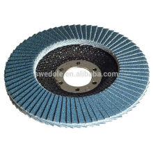 Zirconia Alúmina fregona abrasiva Flap Disc