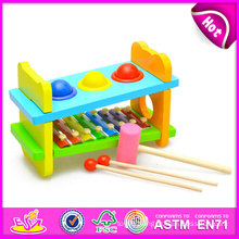 2014 Educational Wooden Xylophone Toy for Kids, Colorful Wooden Toy Xylophone for Children, Knock Xylophone Set for Baby W07c031 Factory