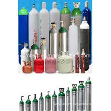 Steel/Aluminum O2 Gas Cylinders