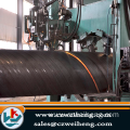 SSAW Spiral welded steel pipes in 12 meter length