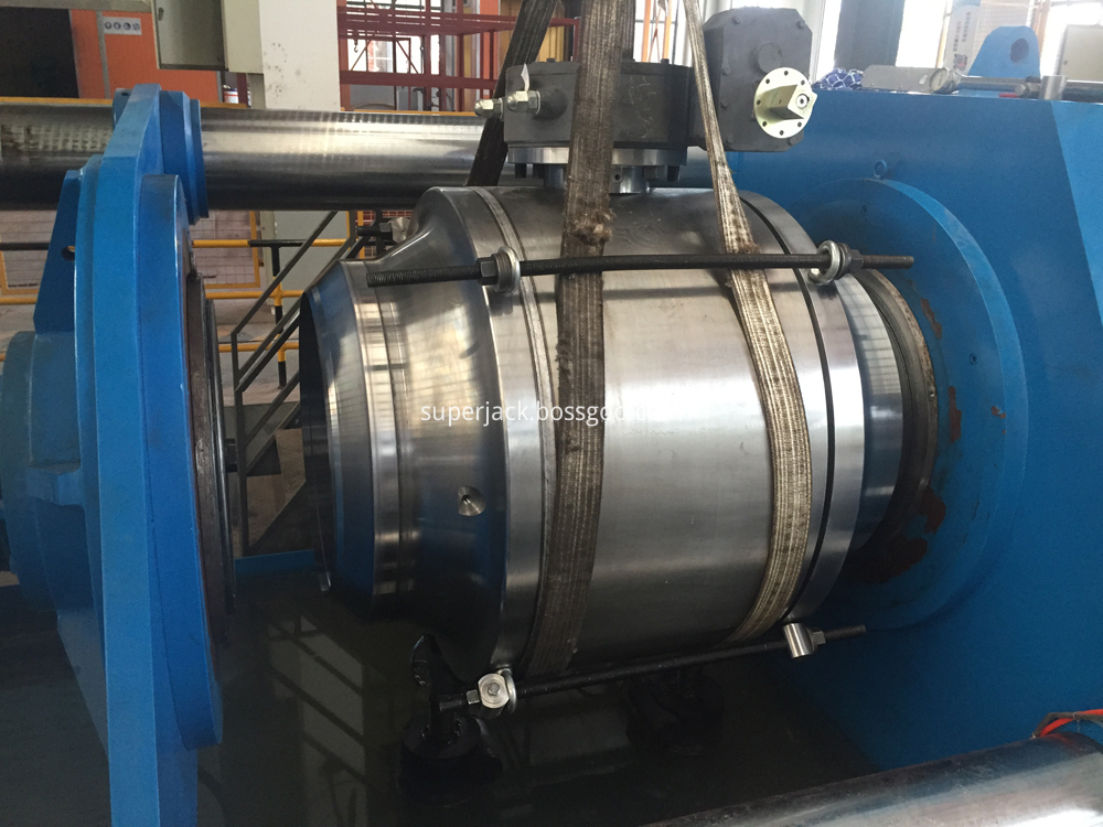 Welded Body Trunnion Mounted Ball Valve 2