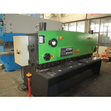 QC11k CNC Hydraulische Swing Balken Schermaschine