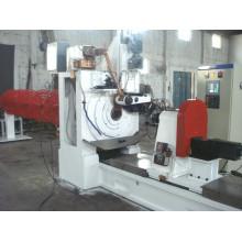 Hwj-6X600 máquina de la soldadura de la pipa de la pantalla del alambre de la cuña