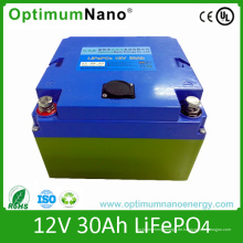 Optimumnano LiFePO4 12V 30ah UPS Batterie