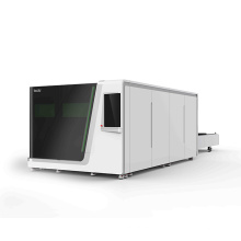 IPG fiber Laser Cutting Machine with protective cover cutting metal from china