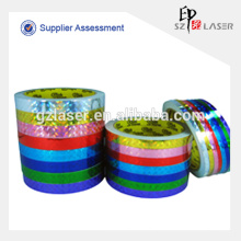 Bopp plastic printed packing hologram tape
