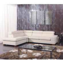 Living Room Genuine Leather Sofa (825)