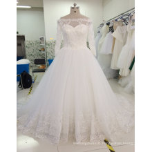Aoliweiya Brand New Real Sample Princess Bridal Wedding Dress