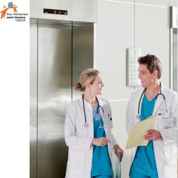 Машинный бездонный пассажирский лифт для больницы