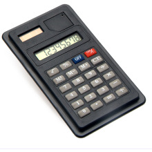 Mini Dual Power 8 Digit Display Calculator for School