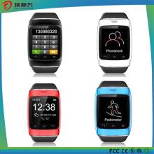 Téléphone intelligent de montre de bracelet de T12 de Topsale Bluetooth avec le podomètre / enregistrement