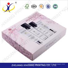 Boîte de bonne qualité d'emballage de produit, emballage de boîte de soin de peau, échantillon gratuit