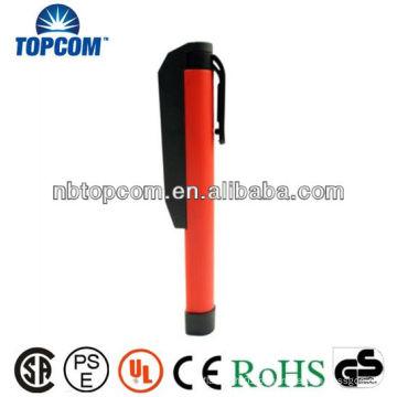 Bolso compacto 7 luz de trabalho conduzida com clip giratório magnético