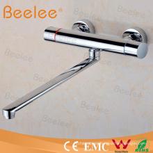 Lujo de latón Durable pitón largo baño grifo para el lavabo de la cocina