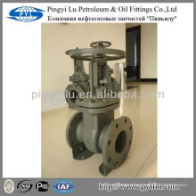 GOST rising stem standard cast steel gate valve oil field