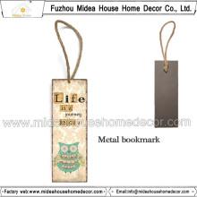 Handgemachte Eulen-Art-Metallbooks Großverkauf