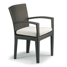 Hot sale Outdoor All Weather chaise de jardin noir