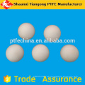 Ptfe plástico redondo válvulas de esfera