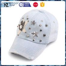Neue und heiße einfache Design abgenutzte Cowboy-Cap und Hut für Großhandel