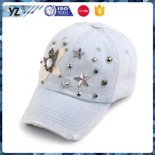Novo e quente design simples gorro de cowboy desgastado e chapéu para atacado
