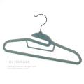 Cintre velours pas cher, T-Shirt floqué Hanger, économiser espace cintre en plastique