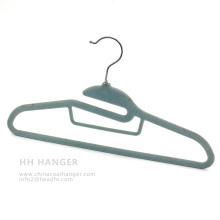 Дешевые бархат вешалка для одежды, футболка светопоглощающая вешалка, сохранить пространство пластиковые вешалка