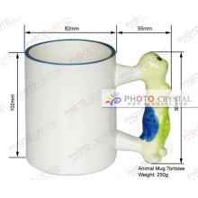Tasse de tasse animale tasse de sublimation