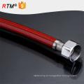 B17 trançado de aço inoxidável higiênico flexível mangueira trançada
