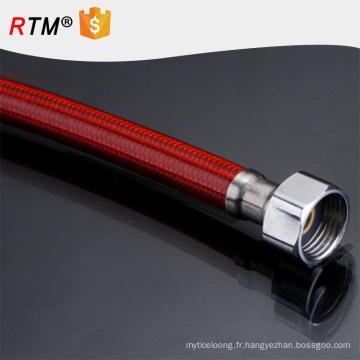 B17 flexible en acier inoxydable tressé flexible tressé