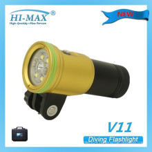 2015 Newly designed underwater camera light from HI-MAX