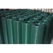 A venda quente PVC revestiu a rede de fio soldada do fio / Metail