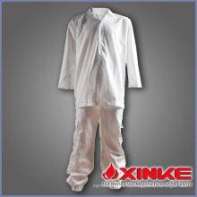 Manteau de cuisine en coton polyester doux et confortable pour le restaurant