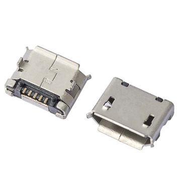 MICRO USB SMT Shell dip con Post