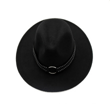 Floppy femmes chapeau d'hiver feutre de laine chapeau de chapeau