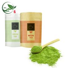 China té verde en polvo Matcha Dropshipping, bolso de té del Matcha del suplemento 50g / 100g / 1kg