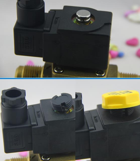 Detailed Pictures of Castel MSV 9100/RA6 Type Refrigeration Solenoid Valve Coils