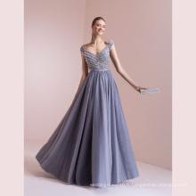 Gery Tulle perlant une ligne robe de soirée