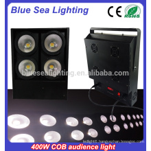 4x100w warm/cool white led stage audience blinder light