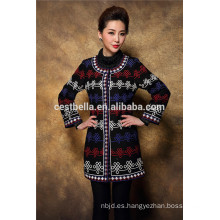 Adultos Grupo de edad y OEM Tipo de suministro Longtop Loose Coat Outer Garment