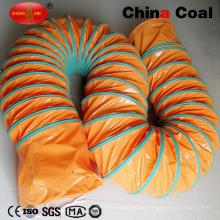 Conductos de aire de la ventilación de la explotación minera del PVC para el túnel